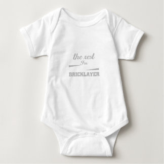 Screw The Rest Bricklayer Great Gift Baby Bodysuit