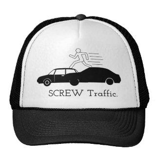 Screw Traffic Trucker Hat