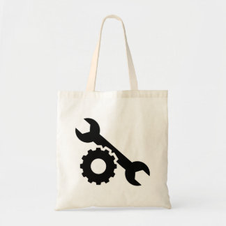 Screw wrench gear tote bag