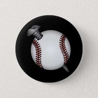 Screwball Button