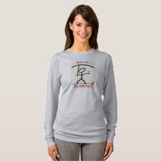 Screwballs™ Seattle Martini LongSleevedT-Shirt T-Shirt