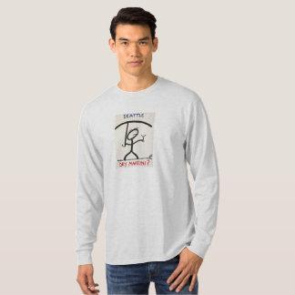 Screwballs™ Seattle Martini LongSleevedT-Shirt T-Shirt