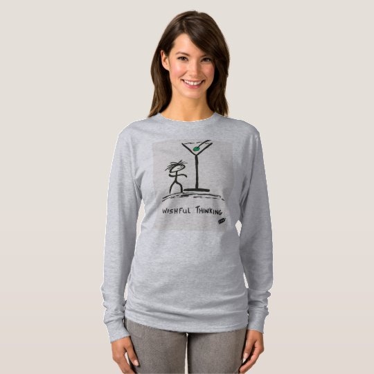 Screwballs™ Wishful Thinking Long Sleeved T-Shirt