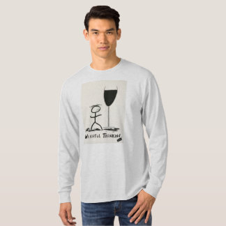 Screwballs™ Wishful Thinking Wine Long Sleeved Tee