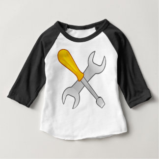 Screwdriver and Wrench Baby T-Shirt