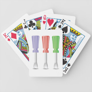 screwdrivers bicycle playing cards