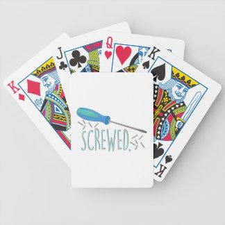 Screwed Poker Deck