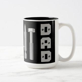 Screws Drill Bit Mechanic Carpenter Dad Coffee Mug