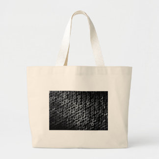 Screws for construction. large tote bag