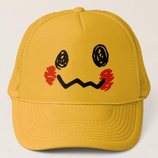 Scribble Face Hat