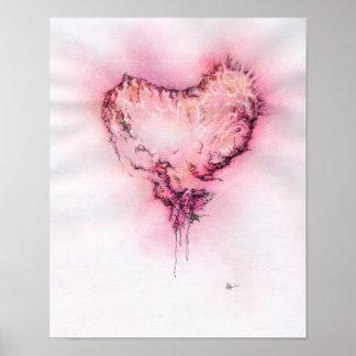 Scribble Heart - Print