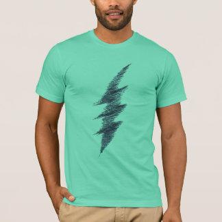 Scribble Lightning Bolt T-Shirt