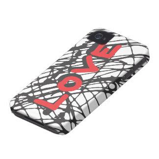 Scribble Love iphone case iPhone 4 Case-Mate Case