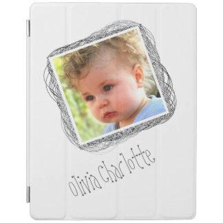 Scribble Photo Template Customizable iPad Cover