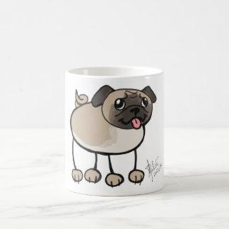 Scribble Pug Mug