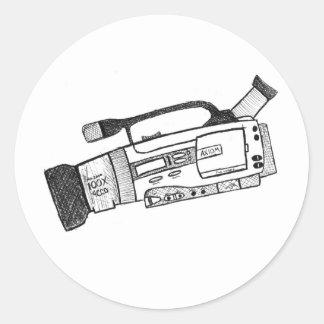 Scribble Video Camera Sticker