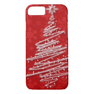 Scribbled Christmas Tree iPhone 8/7 Case