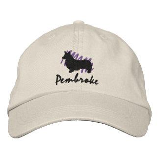 Scribbled Pembroke Embroidered Hat