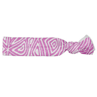 Scribbleprint Pattern Hair Tie