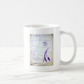 Scribbles Graphs Ideas and Freedom Coffee Mug
