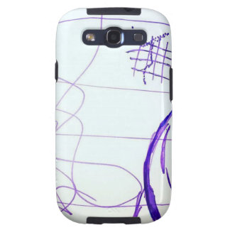 Scribbles Graphs Ideas and Freedom Galaxy S3 Case