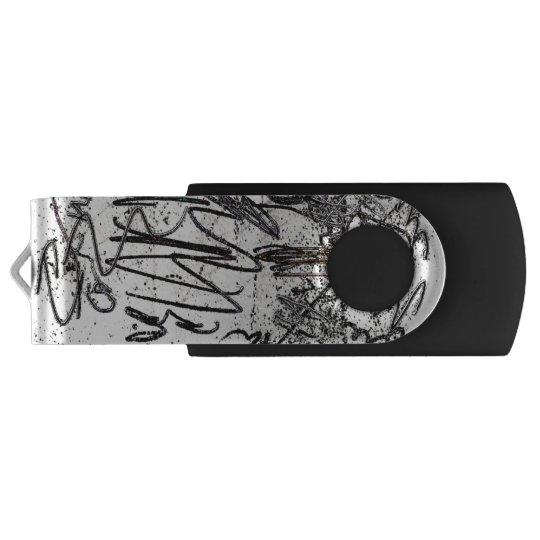 Scribbles USB Flash Drive Swivel USB 3.0 Flash Drive