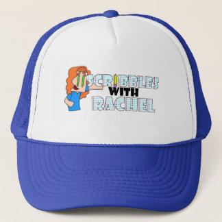 ScribblesWithRachel Logo Trucker Hat