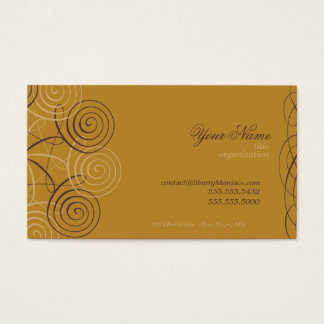 Script & Calligraphy Business Cards