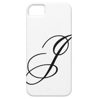 Script J iPhone 5 Cases