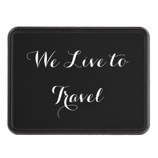 Script Lettering Hitch Cover