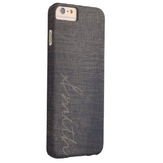 Script Name Dark Denim iPhone 6 Plus Case