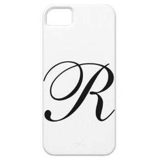 Script R iPhone 5 Case