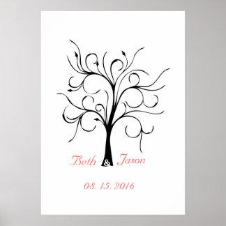 Script Style Finger Print Tree