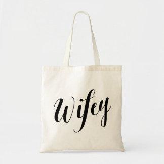 Script Tote | Wifey