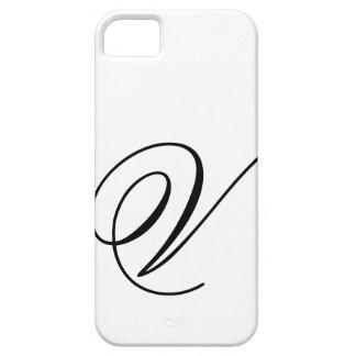 Script V iPhone 5 Case