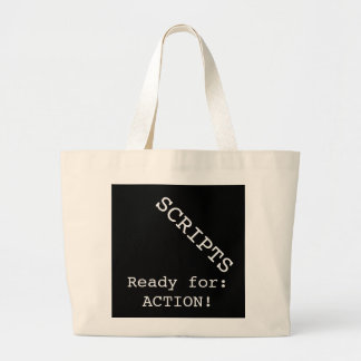SCRIPTS -- Ready for ACTION! Jumbo Tote