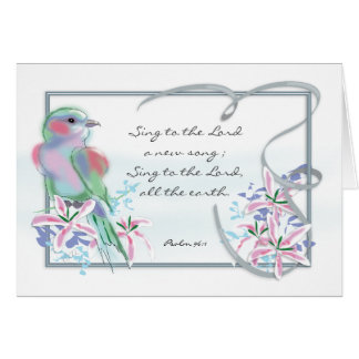 Scripture Birthday Card