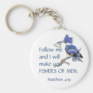 Scripture, Fishers of Men, Inspirational Quote Keychain