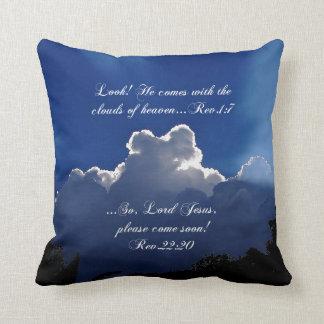 Scripture Inspirational Throw Pillow