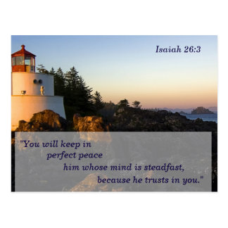Scripture Memory Cards Postcard