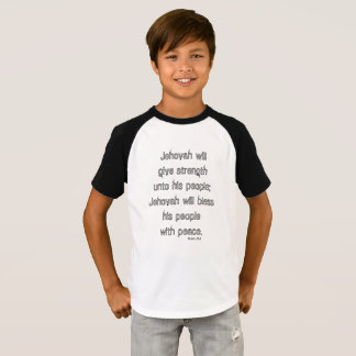 Scripture Quote Tee - Bless His People with Peace