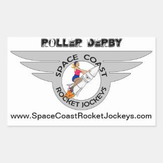 SCRJ Roller Derby Sticker
