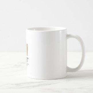 scroll bathroom rules coffee mug