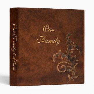 Scroll Leaf Mother's Day Family Album Binder