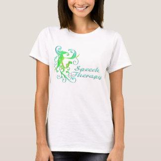 scrollart leaves ST green T-Shirt