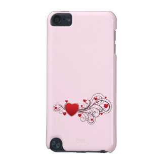 Scrolled Hearts kash003 iPod Touch (5th Generation) Case