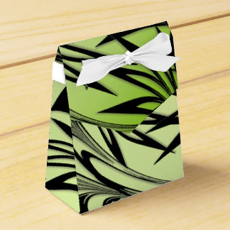 Scrolled Leaf Ombre Favor Box