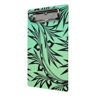 Scrolled Leaf Ombre Mini Clipboard
