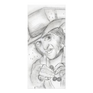 Scrooge - A Christmas Carol Ticket Rack Card