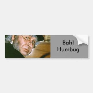 scrooge, Bah! Humbug Bumper Sticker